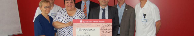 Großzügige Spende für Neustadter Palliativ-Station