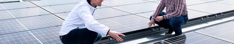 Solarstrom vom Vereinsdach