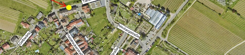 Vollsperrung im Tiefenweg, Ortsteil Gimmeldingen